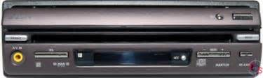 Sony Xav Dvd Receiver With Retractable Monitor