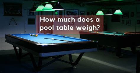 how much is a slate pool table worth how much does a pool table weigh gosports reviews