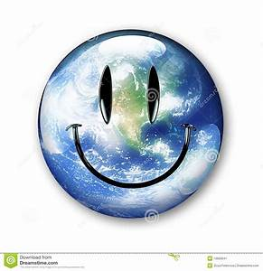 Earth Smiley Stock Illustration  Image Of Sphere  Smiling