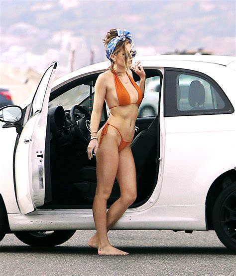 bella thorne bikini photoshoot  los angeles