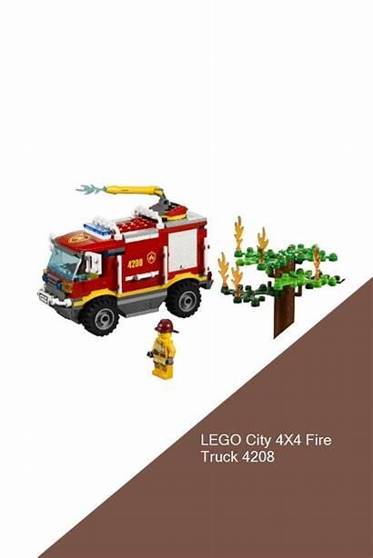 Lego Fire 4x4 Truck Legoclubs