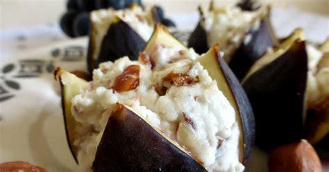 cuisiner le c駘eri les mets tissés cuisine d 39 ici et d 39 ailleurs figues farcies au chevre frais