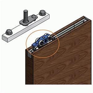 Roulette Pour Porte Coulissante : roulette porte coulissante s rie expert cube bois rob ~ Dailycaller-alerts.com Idées de Décoration