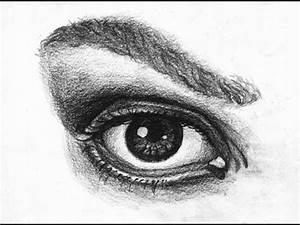 Dessin Facile Yeux : comment dessiner un oeil r aliste how to draw a realistic eye youtube ~ Melissatoandfro.com Idées de Décoration
