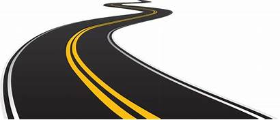 Road Highway Clipart Race Transparent Curve Ahead