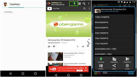 tubemate android app how to on your android smartphone