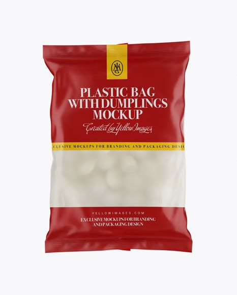 Visit download pageunforgettable photoshop mockup of free set of plastic bags. deSymbol — Frosted Plastic Bag With Dumplings & Matte...