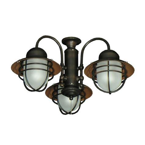 3 light ceiling fan light kit 362 nautical styled outdoor ceiling fan light kit 3
