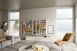 Parete Attrezzata  Soggiorno  Living  Livingroom  Mobile Soggiorno  Legno  Arredamento In Legno