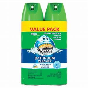 Scrubbing Bubbles Bathroom Cleaner Fresh Clean Value Pack