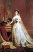 Queen Elisabeth of Hungary and Bohemia - Bertalan Szekely ...