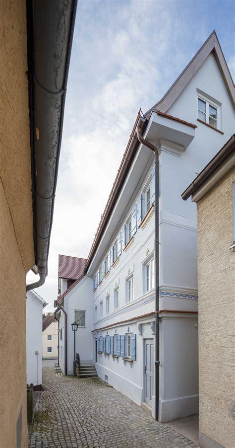 Umbau Und Sanierung Eines Denkmalgeschützten Hauses In