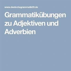 Adjektivdeklination Deutsch A1 A2 Erklärungen Tabellen übungen Learn
