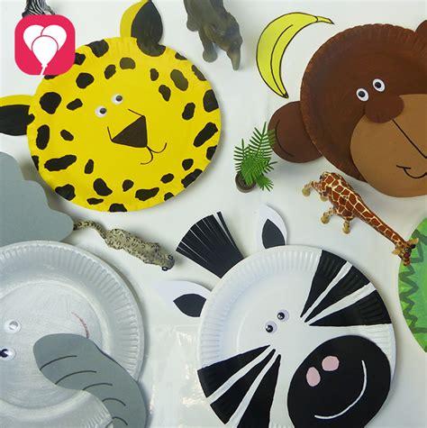 einfache tiermasken basteln balloonasblog einfache kreative ideen rund um den kindergeburtstag