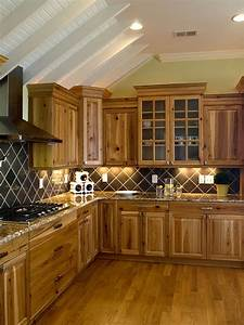 33 best ideas hickory cabinets for naturally beautiful With why choosing wood kitchen cabinet for your kitchen