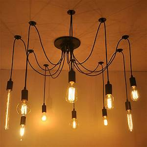 Pendant lighting bulbs : Aliexpress buy diy edison bulb pendant lights e