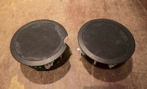 Niles ds7si ceiling mount stereo input speake. Niles CM760 In-Ceiling Speaker Pair - Tested & Working ...