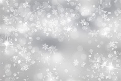Purple Pastel Snowflake Background by Silver Snowflake With Sparkle Background Stock Photo