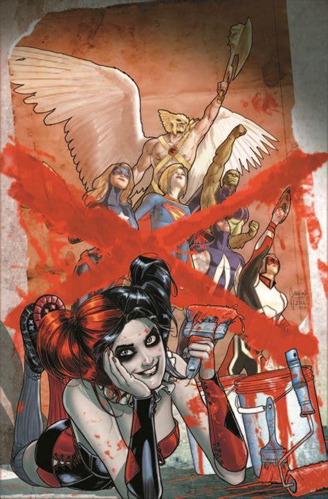 Janin Quinones Dc Comics February 2015 Theme Month Variant Covers
