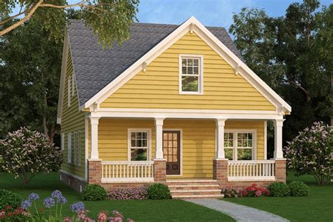 Narrow Cottage Plans by Narrow Lot Cottage 75532gb Architectural Designs