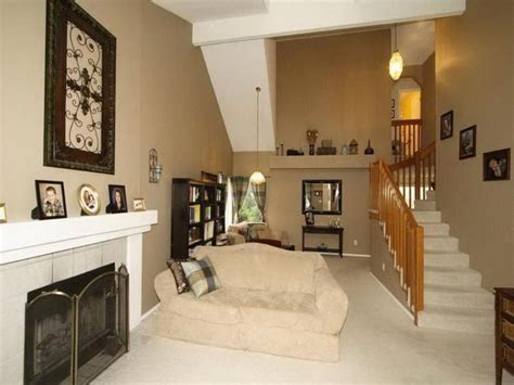 Beige Living Room Paint Color Ideas For Two Story Home