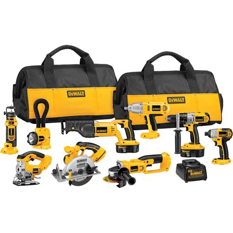 price for garage door dewalt 18 volt xrp cordless 9 tool combo kit gifts for