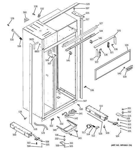 ge model zissdma side  side refrigerator genuine parts