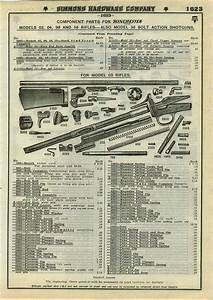 1930 Advert 4 Pg Winchester Shotgun Parts Repair List