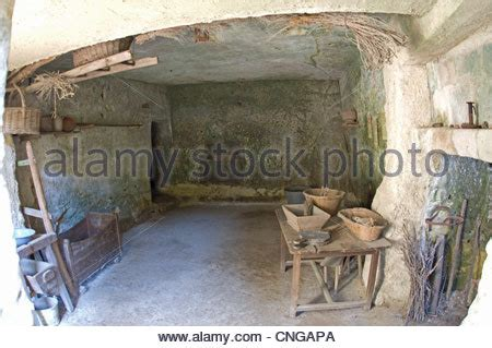 troglodyte des goupillieres near azay le rideau in the indre stock photo royalty free