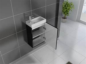 Waschbecken 80 X 40 : sam g ste wc waschbecken 40 x 22 cm schwarz vega ~ Bigdaddyawards.com Haus und Dekorationen