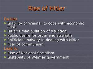 Nazism And The Rise Of Hitler Ix A Ashay 1