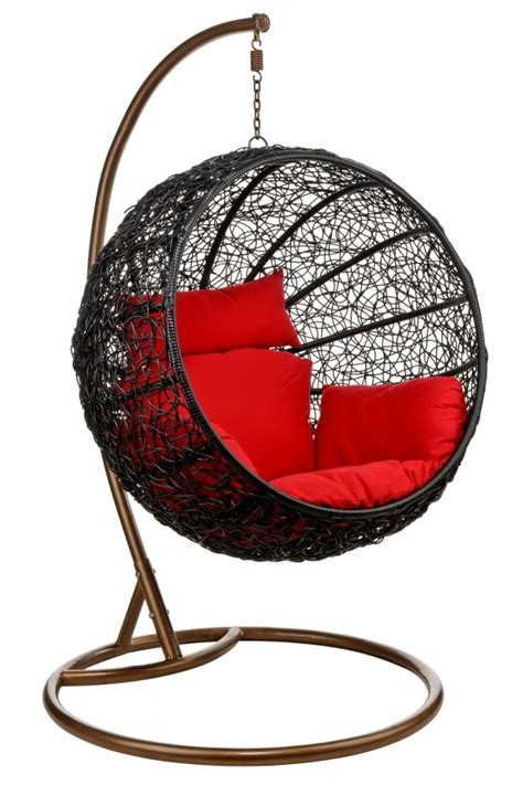 hanging egg chair wicker ceiling chair hang in retro style