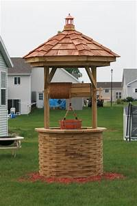 Free Octagon Wishing Well Plans Plans DIY Free Download