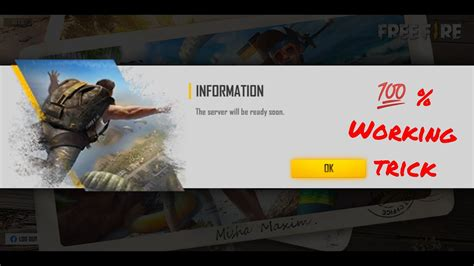 To get the advance server code in garena free fire, the first step is to download the free fire ob28 advance server apk from the official website. Free fire advance server login error - YouTube
