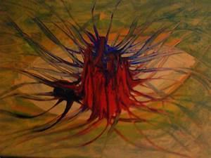 Abstrakte Bilder Acryl : bild tod leben abstrakt acrylmalerei von claus pustlauk bei kunstnet ~ Whattoseeinmadrid.com Haus und Dekorationen