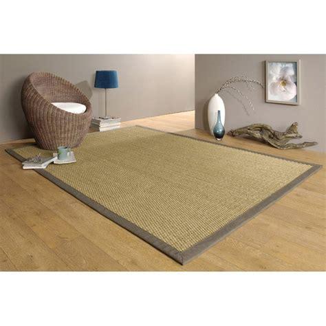 jonc de mer cuisine tapis taupe jonc de mer 4x4 l 140 x l 195 cm leroy merlin