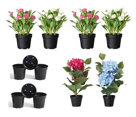 jual pot bunga plastik kecil diameter  cm tinggi