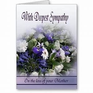 deepest sympathy messages mother | With Deepest Sympathy ...