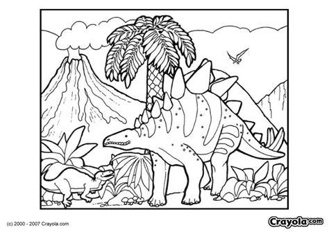 kleurplaat dinosaurus afb  images