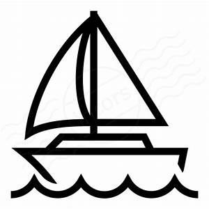 IconExperience » I-Collection » Sailboat Icon