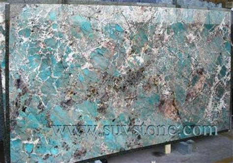amazonite blue granite slab building apparatus