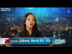 Lost In The Pews, Found In The World - Sarah Jakes - YouTube