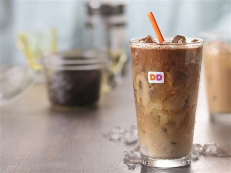 The Secret To Dunkin' Donuts Iced Coffee Coffee Woman In Spanish Braun Maker With Thermal Carafe White Modern Farmhouse Table Juan Valdez Germany Candy Slogan Frozen Legs