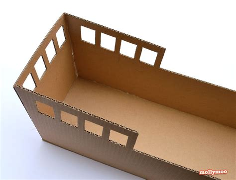 Pirate Ship Cardboard Boat by Diy Cardboard Pirate Ship Craft Tutorial Cardboard