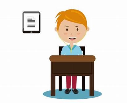 Education Animation Gifs Students Listen Study Covid
