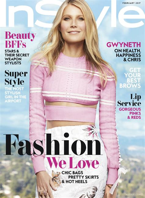 Goop Gwyneth Paltrow Cover by Gwyneth Paltrow Covers Instyle And Promotes New Book Goop