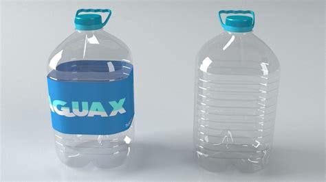 5L plastic bottle 3D model | CGTrader