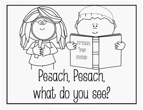 printable passover coloring pages scribblefun