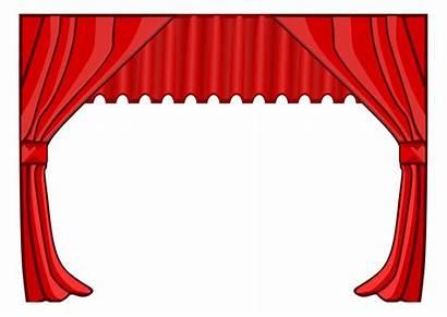 Theatre Clipart Border Hollywood Teater Bilde Clip