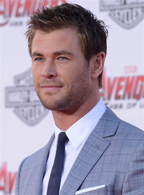 Chris Hemsworth and Elsa Pataky At Avengers: Age Of Ultron ...